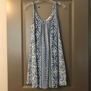 Madewell Printed Cotton Dress